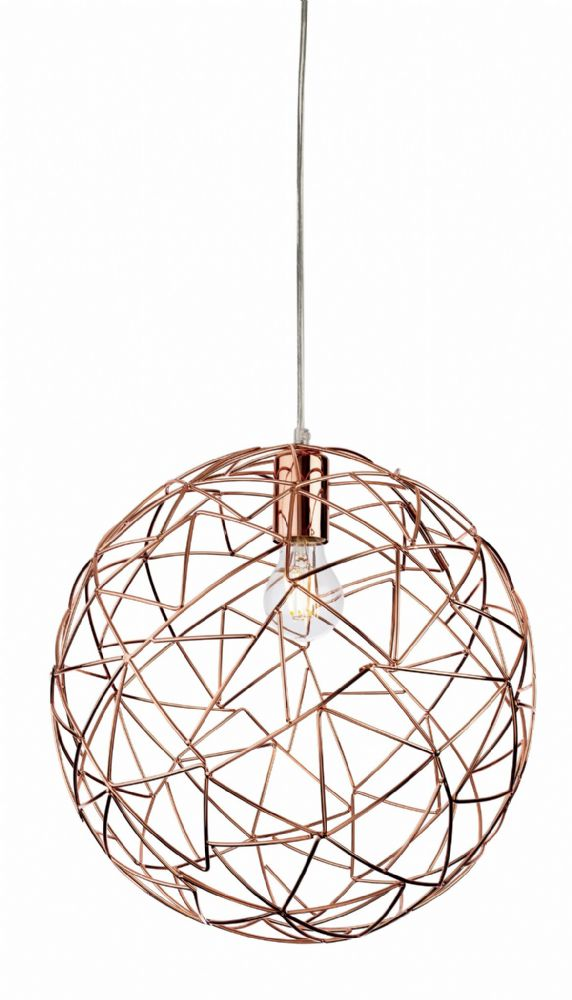 Firstlight 7638CP Copper Praga Pendant